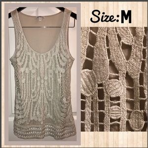Like NEW•Gorgeous ⭐️ knit top size M